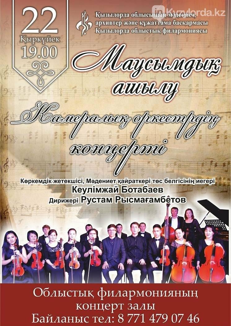 Сезонное открытие концерта  камерного оркестра, фото-1