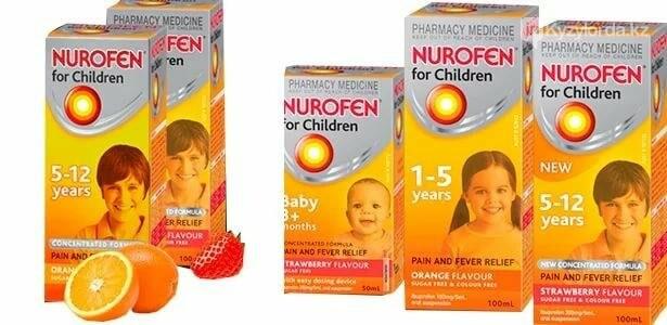 Чем опасен  детям Нурофен, фото-1