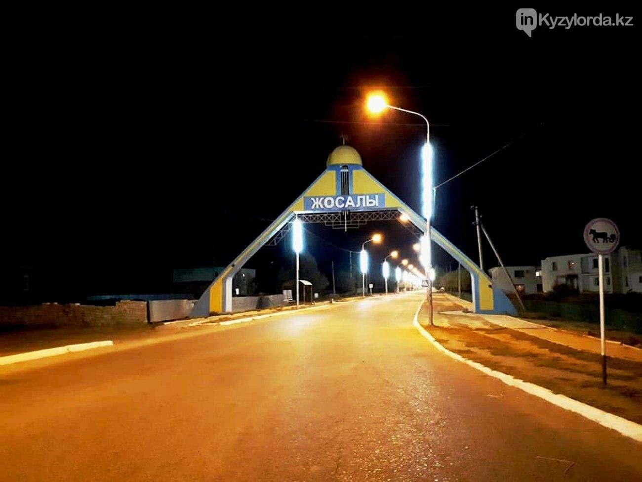 В поселке Жосалы ведется активная работа по проведению уличного освещения. , фото-1