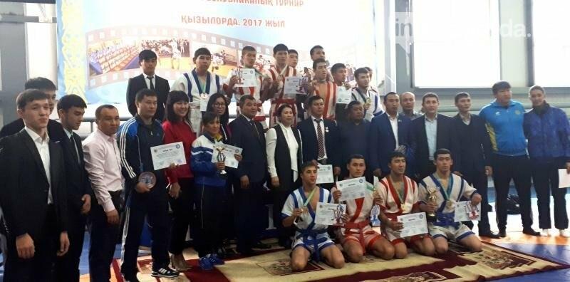 В Кызылорде в честь 95-и летия М.Маметовой состоялся турнир по казахша курес, фото-1