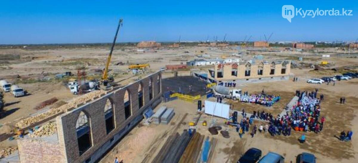 Кызылординская область возглавляет рейтинг строительства, фото-1
