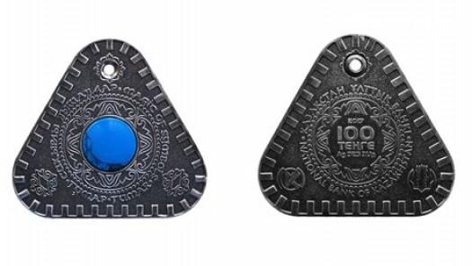 Нацбанк  выпустил коллекционную серебрянную монету, фото-2