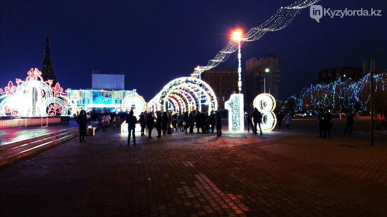 В Кызылорде зажгли главную новогоднюю елку, фото-5