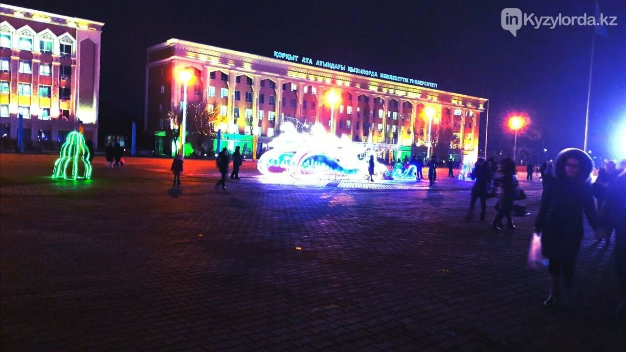 В Кызылорде зажгли главную новогоднюю елку, фото-7