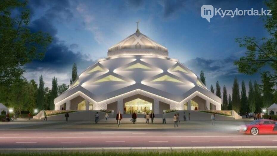 """Cтроят новую мечеть """"Алланың гүлі – Цветок Всевышнего"""", фото-1"""