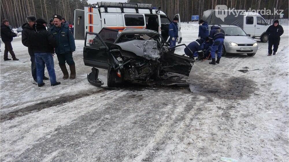 На трассе Павлодар - Кызылорда погиб водитель Nissan , фото-1